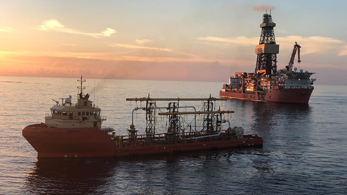 Thunder Horse Northwest Expansion project in the deepwater Gulf of Mexico