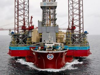 The 'Maersk Intrepid' jack-up rig