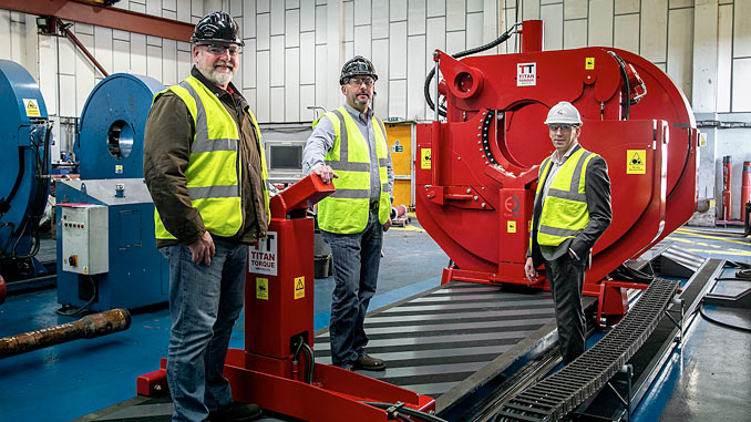 Titan Torque invests in the future with state-of-the-art