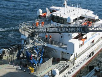 Ampelmann enables multiple crew change campaigns, among which are two with vessel owner CMS