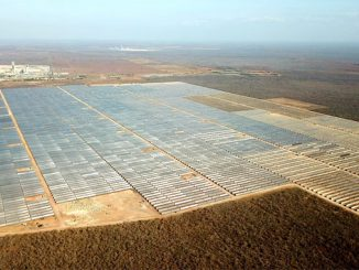 The 162 MW Apodi Solar plant is grid connected and in commercial operation