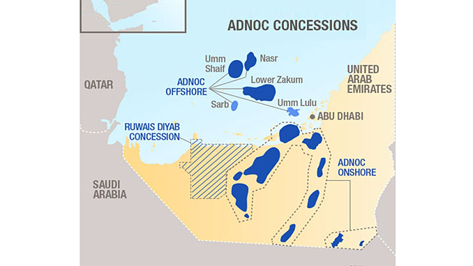 Total and Abu Dhabi National Oil Company (ADNOC) have signed a concession agreement to launch an unconventional gas exploration program in the high potential Diyab play