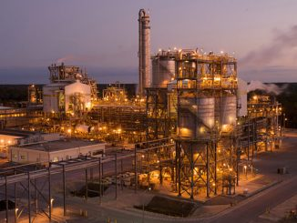 The Cooper River chemical plant, South Carolina, USA, produces BP'a PTAir, a new low carbon and carbon neutral PTA brand
