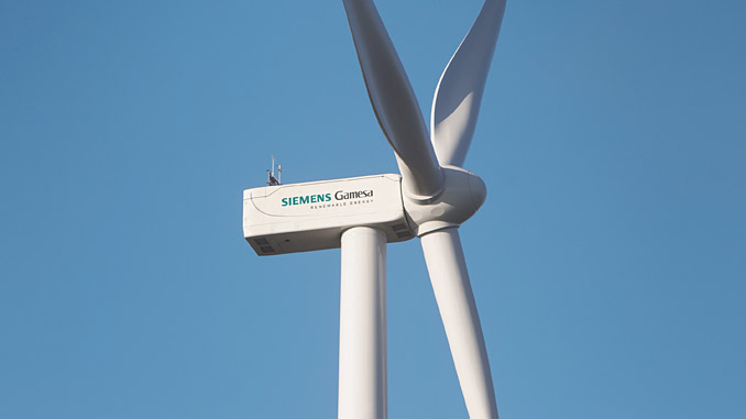 SG 4.5-145 wind turbines with a flexible power rating