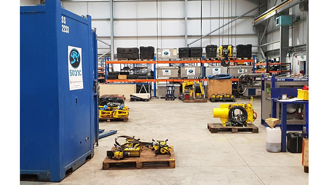 The new Seanic facility provides a larger workshop area and improved storage space