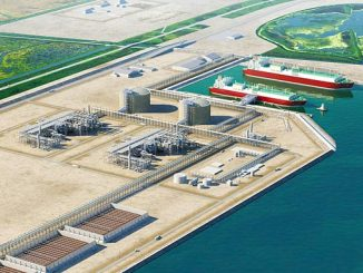 The Port Arthur liquefaction-export facility is proposed to include two natural gas liquefaction trains capable of processing approximately 11 Mtpa of LNG; up to three LNG storage tanks; two marine berths, and associated facilities