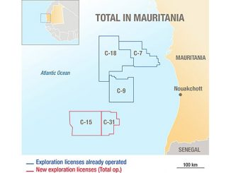 Total – present in Mauritania for nearly 20 years – is the only oil and gas major active in the marketing of petroleum products in the country, with a retail network of 38 service stations