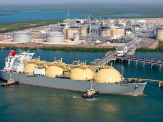 The Bladin Point two-train onshore liquefaction plant will supply 8.9 million tonnes per year