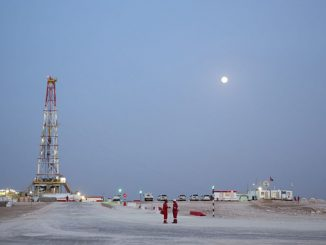 Khazzan gas project in Oman