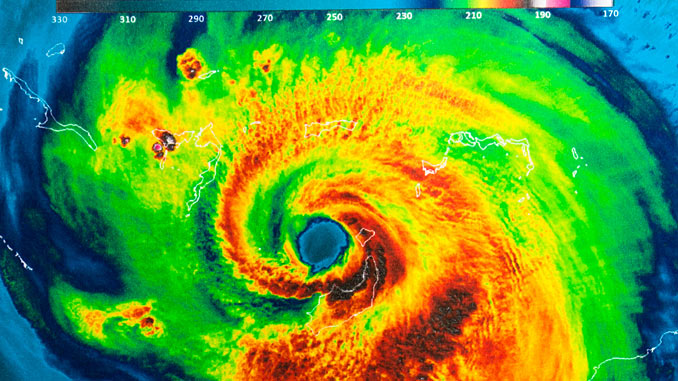 Climate change is upon us and the experts tell us to expect more extreme weather events