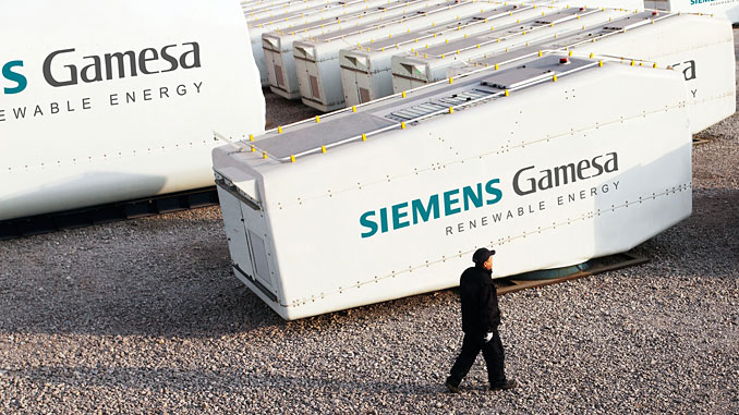 Siemens Gamesa Renewable Energy Nacell factory