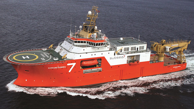 The 'Normand Subsea', a high-specification Life of Field vessel
