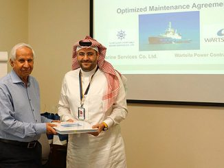Capt. Salah U. Ahmed, General Manager, Marine Service Company Ltd. and Haidar Al Hertani, Managing Director, Wärtsilä Saudi Arabia