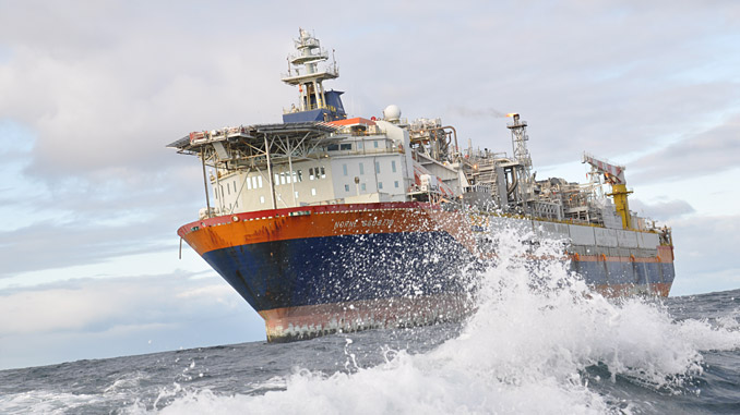 Production began from Norne in the Norwegian Sea on 6 November 1997 (photo: Equinor/Anne-Mette Fjærli)