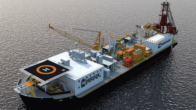 Chet Morrison Contractors has acquired two pipelay/construction barges and a saturation diving system