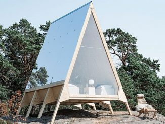 Part of the Journey to Zero project by Neste, the Nolla cabin was realised in collaboration with Fortum, Wallas and Stockmann