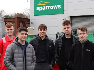 During National Apprenticeship Week, Sparrows has announced it is investing in the next generation by employing new apprentices