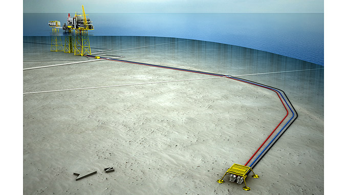 The Oda field has been developed with a subsea template tied in to the Ula platform, 13 kilometres away