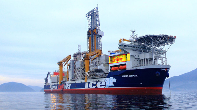 'Stena IceMAX' is a harsh environment DP Class 3 drillship capable of drilling in water depths up to 3,000 metres