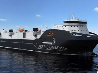 The new state-of-the-art Aker BioMarine support vessel is designed by Wärtsilä and fitted with an integrated package of propulsion and environmental systems