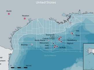 Equinor has been present in the US Gulf of Mexico since 2004 with exploration prospects and interests in eight producing fields in the US Gulf of Mexico and two in development