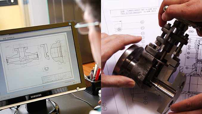 The companies designing and making the valves have talented engineering departments enabling them to do so