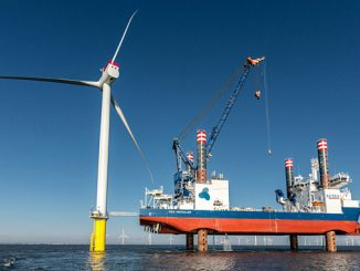 At Arkona, Siemens Gamesa Renewable Energy installated and commissioned 60 SWT-6.0-154 direct drive offshore wind turbines in a record time of only 5 months