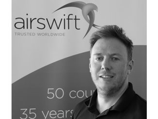 Airswift Vice President of Europe and Africa, Peter Denham