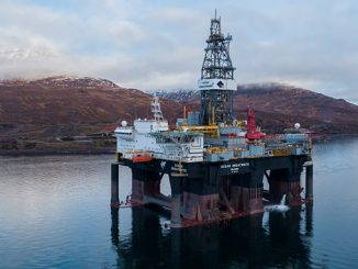 The Diamond 'Ocean GreatWhite' semi-submersible drilling rig