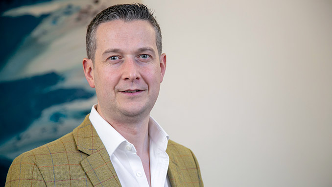 Exceed's commercial director, John Anderson