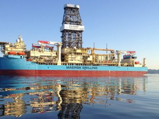 The 'Maersk Voyager' is a Samsung 96K designed drillship with several Maersk Drilling upgrades