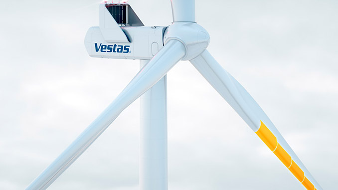 Vestas' Anti-Icing-System™ that efficiently manages ice formation on blades during operation to maximise energy production
