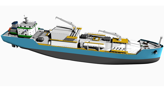 The first Chinese owned LNG bunker vessel will operate on Wärtsilä propulsion machinery, and with Wärtsilä cargo handling and waste treatment systems