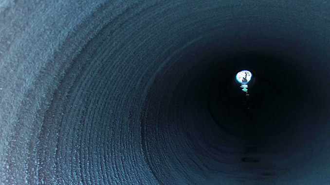 GeoSpray® geopolymer mortar system can create a new structural pipe within an existing pipe