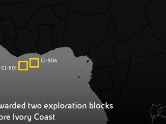 Eni's exploration blocks in the eastern part of the sedimentary basin offshore Ivory Coast