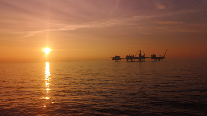 The Johan Sverdrup field in the North Sea – regarded as Norway's biggest industrial project in modern history