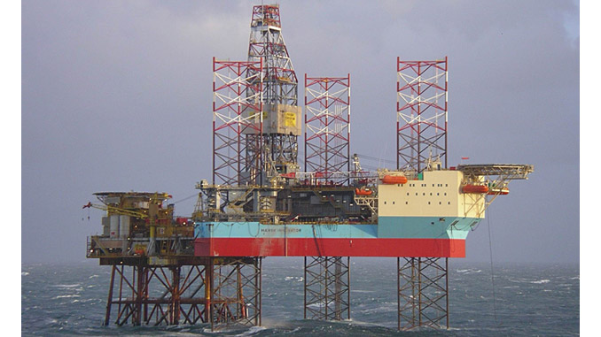 The 'Mærsk Innovator' – an ultra-harsh environment jack-up rig designed for year-round operation in the North Sea