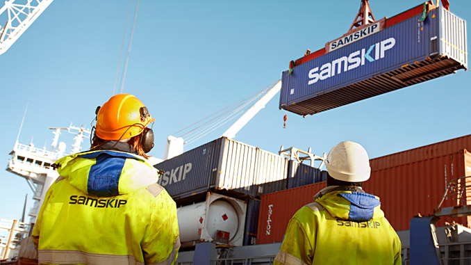 Samskip's containerised shortsea services