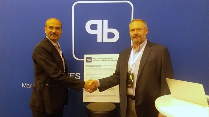 Sanjay Jadhav, CEO at Sterling and Wilson Powergen, and Brent Perry, CEO at PBES