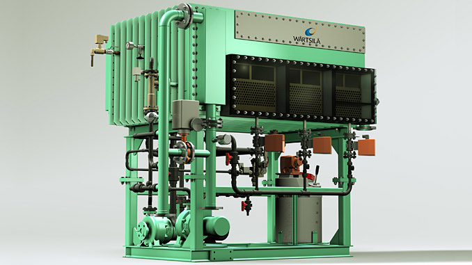 Unique Wärtsilä fresh water production system offers significant