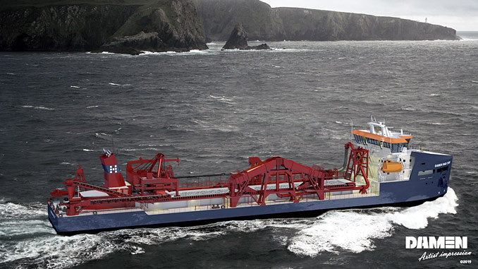 Wärtsilä solutions have again been chosen for another environmentally sustainable large Marine Aggregate Dredger from Damen