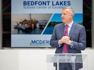 David Dickson, McDermott President and CEO, speaks on the positive impact Bedfont Lakes relocation will have for company, clients