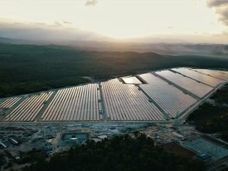 The Merchang 66 MW (DC) solar plant