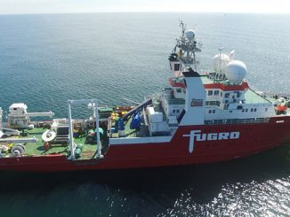 Dedicated survey vessel, 'Fugro Equator'