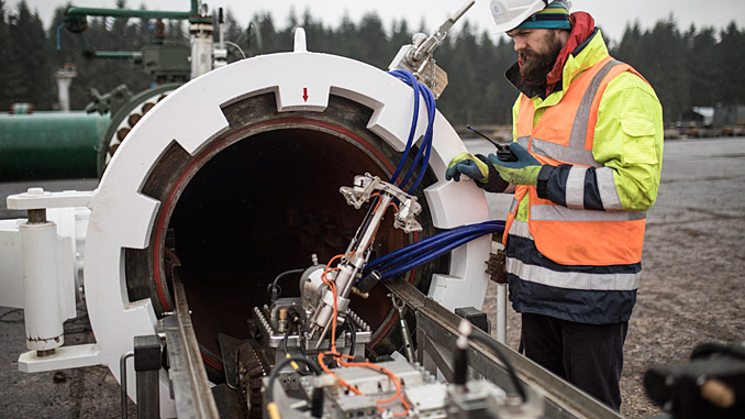 The project will address a significant challenge to the UK's infrastructure, with around 350 km of high-pressure pipelines that cannot be inspected using traditional methods