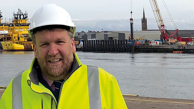 Chief executive at Montrose Port Authority, Captain Tom Hutchison