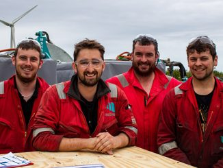 Motive Offshore technicians at the company's Boyndie base