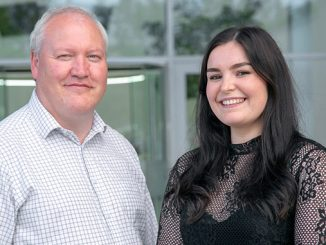 Subsea 7 Engineering Conversion Programme graduates, Paul Kelly and Rachel Souter