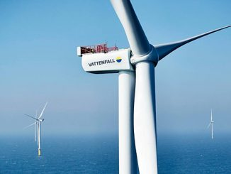 Horns Rev 3 is the first of three offshore farms that Vattenfall will construct in Denmark in the coming years