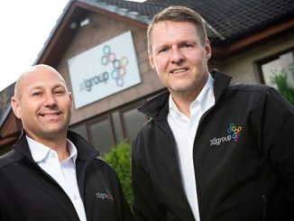 From left, Richard Dodunski and Mike Fergusson at XL Group HQ